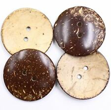 Sewing Button 10pcs 80L 50mm Natural Coconut Shell Project Decoration Etsy DIY