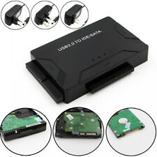 USB 3.0 A IDE SATA HARD DRIVE HDD rete Convertitore Adattatore PC CAVO EU spina