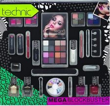 Technic Makeup Kit Eye-shadow Lipstick Lip-gloss Nail Varnish Nail Art