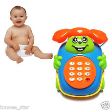 2018 Baby Toys Music Cartoon Phone Educational Developmental Kids Toy Gift New