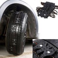 "Tire Snow Chain TPU Slip For Car Truck Suv Universal 165mm 285mm / 6.50-11.22"""