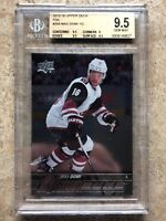 15-16 UD YG Young Guns Rookie RC #204 MAX DOMI Silver Foil Graded BGS 9.5