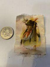 Tokio Cigarettes Bull Head Native American Indian Chief Tobacco Silk