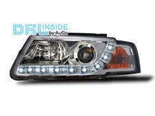 Scheinwerfer mit LED Tagfahrlicht R87 Zulassung VW Passat 3B 1996-2000 Chrom NEU
