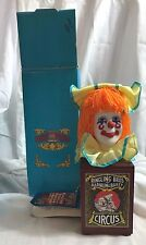RINGLING BROTHERS & BARNUM BAILEY Circus Clown Music Box Willitts 1988-NEW