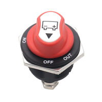 50A Battery Isolator Switch Cut Off Kill Disconnecter Terminal Car Motorcycle RV