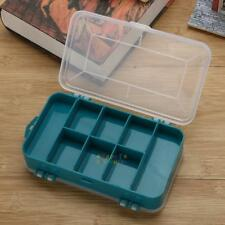 Plastic Tool Box Case Double-Side Small Components Tool Storage Box Organizer