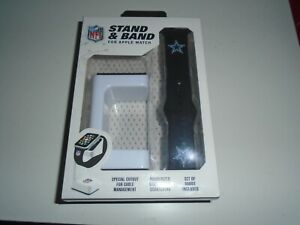 STAND & BAND NFL DALLAS COWBOYS APPLE WATCH STAND AND BANDS - NWT