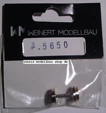 Weinert Tenderradsatz, 11.5mm , 9 Speichen  Art.-Nr.5650