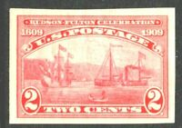 [MD2]..US #373 Mint-NH 1909 Imperf. Hudson-Fulton Single