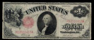 """SC 1917 $1 Legal Tender """"Sawhorse"""""""