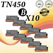 10PACK TN450 Compatible for Brother MFC-7240 MFC-7360N Intellifax 2840 DCP-7060D