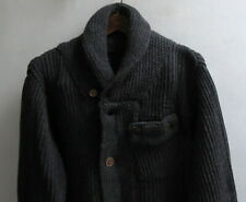 G-Star Raw Correct Line Men's XXL Noble Knit Long Sleeve Cardigan Black NWT