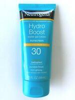 Neutrogena Hydro Boost Sunscreen Water Gel Lotion Non Greasy SPF 30 EXP 2021
