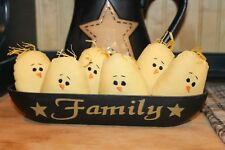 Primitive Chicks Peeps Or 00003982 nies Bowl Fillers Tucks Spring Easter Prim Set of 6