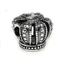 Genuine Pandora Sterling Silver Royal Crown Bead Charm 790930