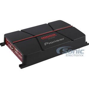 NEW!! PIONEER 1000 Watt 4-Channel Bridgeable Class AB Car Amplifier | GM-A6704