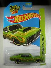 Hot Wheels1:64 Hw Workshop 2015 '68 Hemi Barracuda - Light Green-213/250