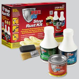 POR-15 40909 Stop Rust Kit - Permanent 3-Step Rust Preventive System
