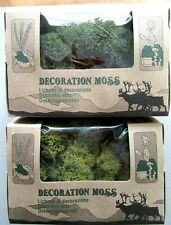 Genre Noch ou Busch :100 g de mousse / lichen pour décoration train ou diorama