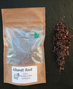 CraftyJam Alkanet Root Natural Dye Fabrics Grey Purple Green, reds Biodegradable