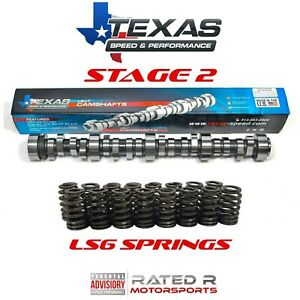 Texas Speed GM LS Truck Stage 2 Cam Kit LS6 Springs TSP Cam 4.8L 5.3L 6.0L 6.2L