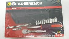 GEAR WRENCH 14 Pc. Metric 6 Pt. Socket Set  #80326 NEW
