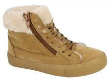 Calzado de niña Botas, botines de piel marrón