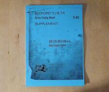 Bedford.TJ&TK.Training manual.TS874.Diesel engine & clutch.200.220.300.330.cu.in