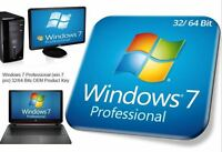 Windows 7 pro Professional 32/64 Bits OEM Product Key (win 7 pro) online