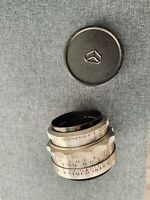 Carl Zeiss Jena Tessar 50mm f/2.8 lens Rare M42 Mount EXC