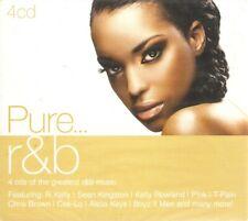 Various - Pure... R&B (4xCD Boxset 2011) 68 Tracks; **NEW/SEALED**