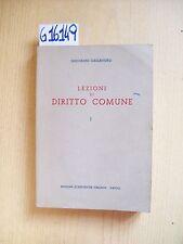 G. CASSANDRO - LEZIONI DI DIRITTO COMUNE I - EDIZIONI SCIENTIFICHE ITALIANE