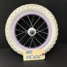"""Complete 12"""" Front Bicycle Purple Wheel w/ Tire 12 1/2 X 2 1/4"""" Kid's Bike #H50"""
