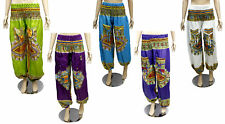 Rayon Aladdin Trousers Hippie Gennie Baggy Pants for Ladies Wholesale Lot 5Pcs