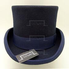 2af32313d741f VINTAGE Wool Felt Men Top Hat Victorian Gentlemen Topper Tuxedo