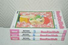 LOT 3 MANGA RANDOM WALK   N° 1 A 3  BOOK  GLENAT WATARU YOSHIZUMI TBE COMPLET