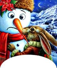 20 water slide nail art transfer Christmas snowman Bunny french tip  trending