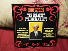 Bob Wills Plays The Greatest String Band Hits LP MCA 152 Vinyl EX ( Close To NM)