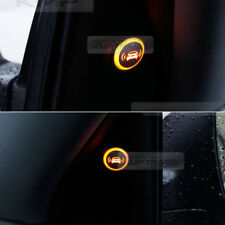 Blind Spot Assist Warning LED Sensor Light Back Up Alarms Buzzer For SAAB Car