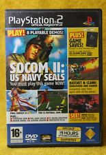 PLAYSTATION 2 OFFICIAL MAGAZINE UK DEMO DISC ISSUE 45 PS2 😎AUSSIE SELLER😎