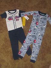 Boys Carter's NWT 4 piece sport pajamas size 12 months