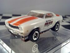 MoDEL MoToRING 1969 Z28 Camaro Pace car HO scale slot car T-jet Custome Wheels