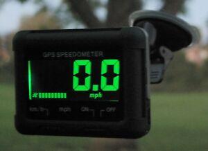 HP02 Speedo - GPS LCD Speedometer | mph | km/h Car Boat Motorcyle Bike 999.9 mph