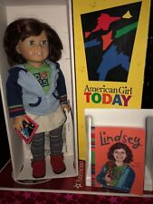 American Girl Doll Lindsey Bergman First Girl of the Year in BOX and Book
