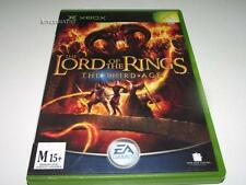 Lord of the Rings The Third Age Xbox Original PAL *Complete*