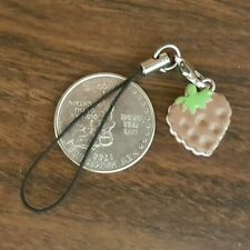 New Chocolate Strawberry Cell Phone Charm Strap