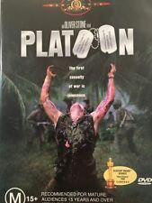 Platoon - Charlie Sheen, Willem Dafoe, Tom Berenger Like New Region 4