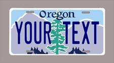 """OREGON custom novelty license plate-your name or text 6""""x12"""""""