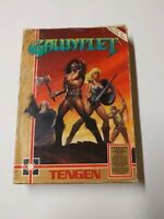 Original Gauntlet Tengen video game (Nintendo NES)  CIB rare label
